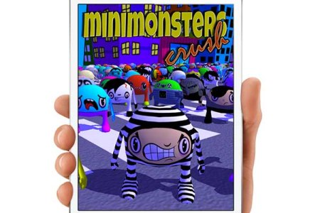 MiniMonsters Crush, a fun game style multiplayer Candy Crush Saga