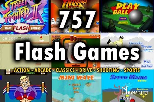 Flash games free to play in the web browser on the Internet